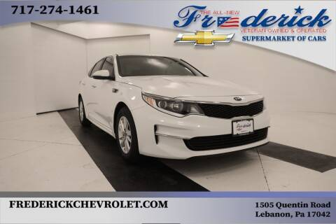 2018 Kia Optima for sale at Lancaster Pre-Owned in Lancaster PA
