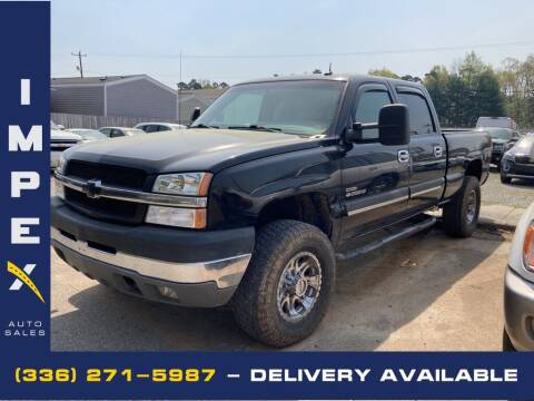 2003 Chevrolet Silverado 2500HD for sale at Impex Auto Sales in Greensboro NC