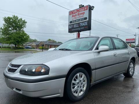 2005 Chevrolet Impala for sale at Unlimited Auto Group in West Chester OH