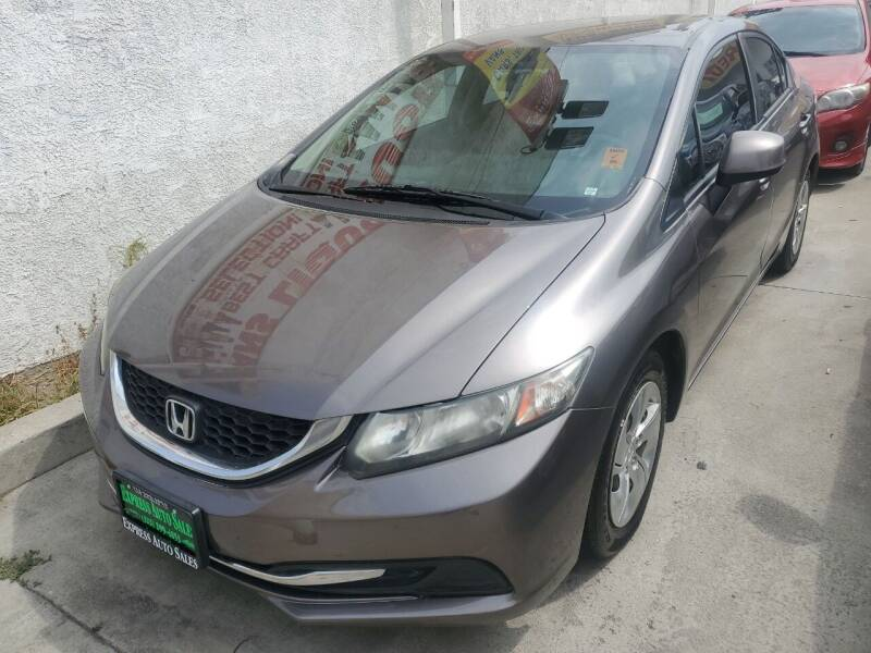 2013 Honda Civic for sale at Express Auto Sales in Los Angeles CA