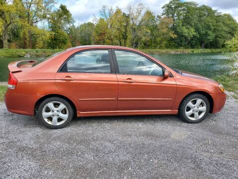 2009 Kia Spectra for sale at Auto Link Inc in Spencerport NY