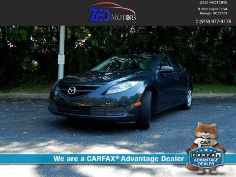 2012 Mazda MAZDA6 for sale at Zed Motors in Raleigh NC