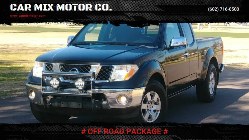 2006 Nissan Frontier for sale at CAR MIX MOTOR CO. in Phoenix AZ
