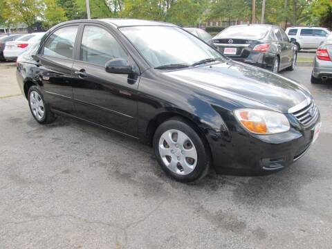 2007 Kia Spectra for sale at St. Mary Auto Sales in Hilliard OH