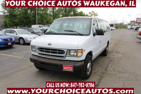 2002 Ford E-Series Wagon for sale at Your Choice Autos - Waukegan in Waukegan IL