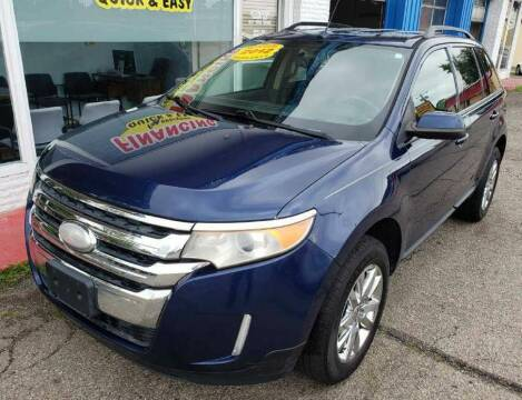 2012 Ford Edge for sale at AutoMotion Sales in Franklin OH