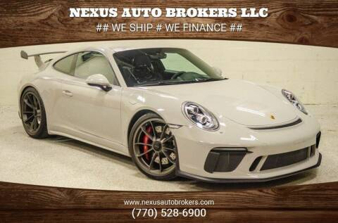 2018 Porsche 911 for sale at Nexus Auto Brokers LLC in Marietta GA