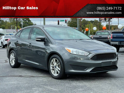 2017 Ford Focus for sale at Hilltop Car Sales in Knoxville TN