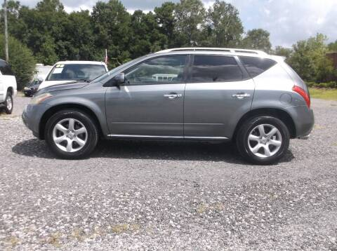2007 Nissan Murano for sale at Car Check Auto Sales in Conway SC