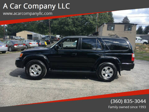 2000 Toyota 4Runner for sale at A Car Company LLC in Washougal WA