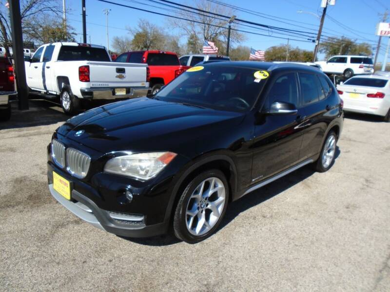 2014 BMW X1 for sale at BAS MOTORS in Houston TX