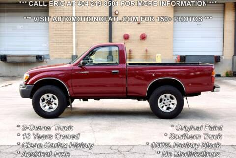 1999 Toyota Tacoma for sale at Automotion Of Atlanta in Conyers GA