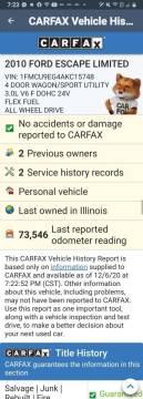 2010 Ford Escape for sale at Advantage Auto Sales & Imports Inc in Loves Park IL