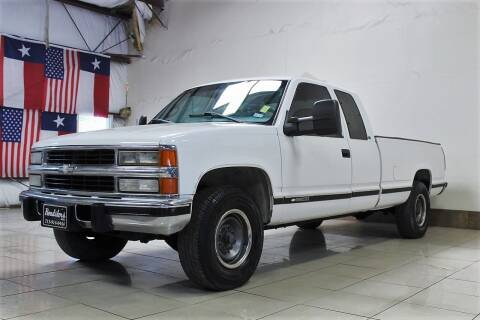 1998 Chevrolet C/K 2500 Series for sale at ROADSTERS AUTO in Houston TX