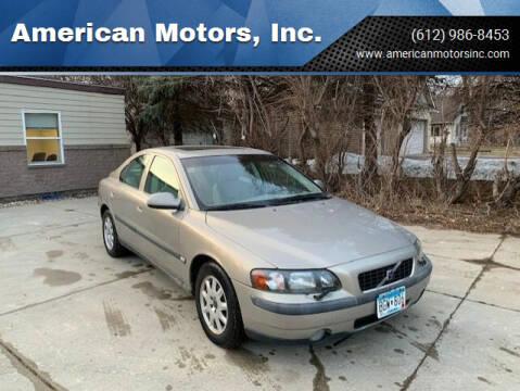 2001 Volvo S60 for sale at American Motors, Inc. in Farmington MN