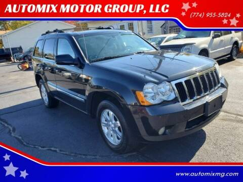 2009 Jeep Grand Cherokee for sale at AUTOMIX MOTOR GROUP, LLC in Swansea MA