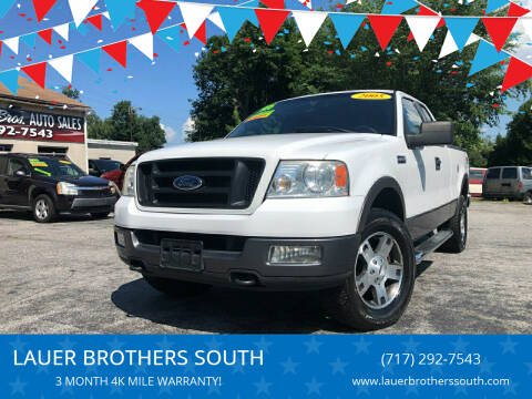 2005 Ford F-150 for sale at LAUER BROTHERS SOUTH in York PA