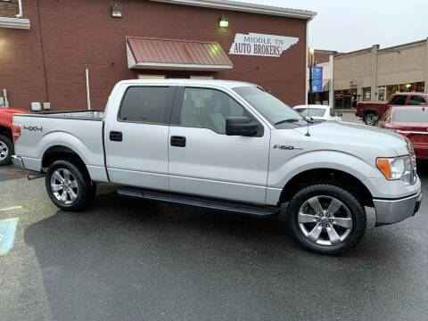 2009 Ford F-150 for sale at Middle Tennessee Auto Brokers LLC in Gallatin TN