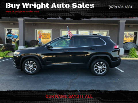 2019 Jeep Cherokee for sale at Buy Wright Auto Sales in Rogers AR