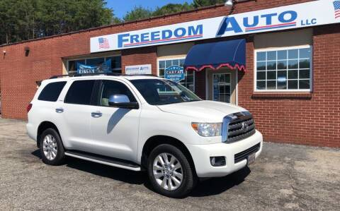 2010 Toyota Sequoia for sale at FREEDOM AUTO LLC in Wilkesboro NC