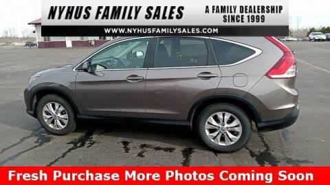 2014 Honda CR-V for sale at Nyhus Family Sales in Perham MN