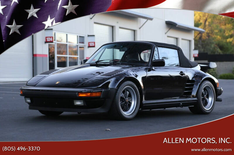 1987 Porsche 911 for sale at Allen Motors, Inc. in Thousand Oaks CA