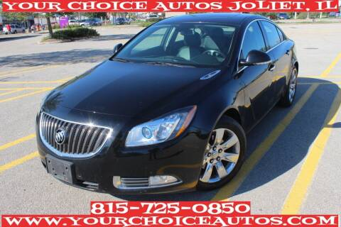 2013 Buick Regal for sale at Your Choice Autos - Joliet in Joliet IL