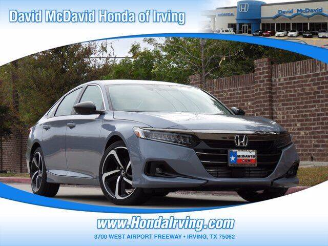 2021 Honda Accord for sale in Irving, TX