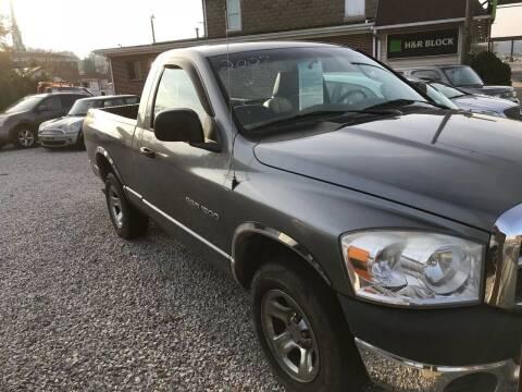 2007 Dodge Ram Pickup 1500 for sale at ADKINS PRE OWNED CARS LLC in Kenova WV