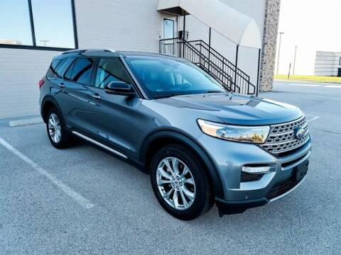 2021 Ford Explorer for sale at Frontier Motors Automotive, Inc. in Winner SD