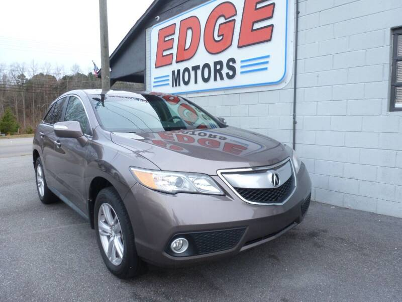 2013 Acura RDX for sale at Edge Motors in Mooresville NC