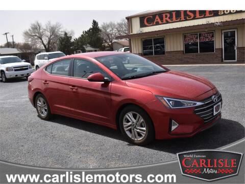 2019 Hyundai Elantra for sale at Carlisle Motors in Lubbock TX