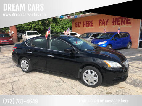 2013 Nissan Sentra for sale at DREAM CARS in Stuart FL