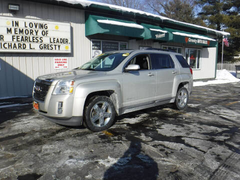 2013 GMC Terrain for sale at GRESTY AUTO SALES in Loves Park IL