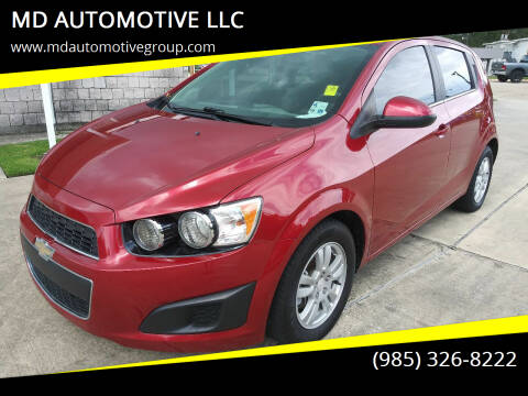 2016 Chevrolet Sonic for sale at MD AUTOMOTIVE LLC in Slidell LA