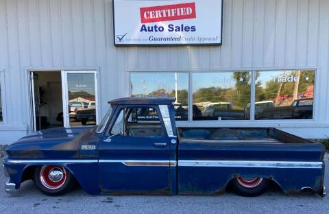 1965 Chevrolet C/K 10 Series for sale at Certified Auto Sales in Des Moines IA