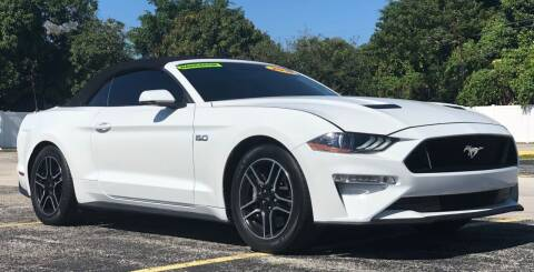 2018 Ford Mustang for sale at Guru Auto Sales in Miramar FL
