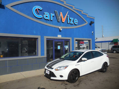 2014 Ford Focus for sale at Carwize in Detroit MI