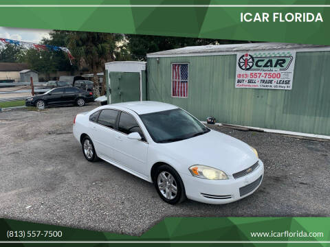 2013 Chevrolet Impala for sale at ICar Florida in Lutz FL