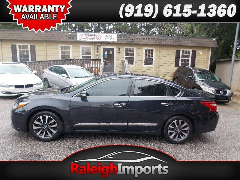 2016 Nissan Altima for sale at Raleigh Imports in Raleigh NC