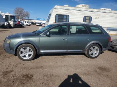 2004 Audi Allroad for sale at PYRAMID MOTORS - Fountain Lot in Fountain CO