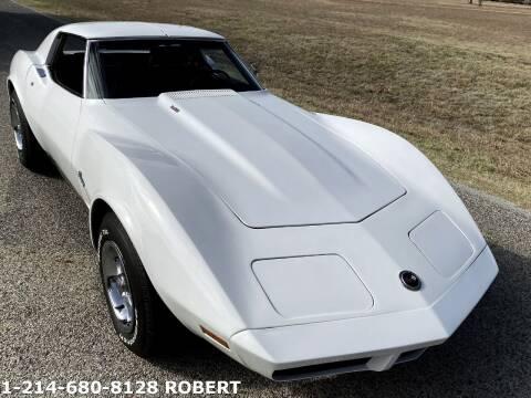 1974 Chevrolet Corvette for sale at Mr. Old Car in Dallas TX