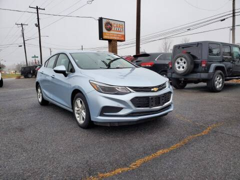 2017 Chevrolet Cruze for sale at Cars 4 Grab in Winchester VA