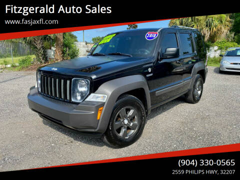 2010 Jeep Liberty for sale at Fitzgerald Auto Sales in Jacksonville FL