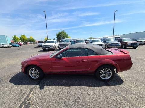 2005 Ford Mustang for sale at HUM MOTORS in Caldwell ID
