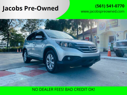 2014 Honda CR-V for sale at Jacobs Pre-Owned in Lake Worth FL