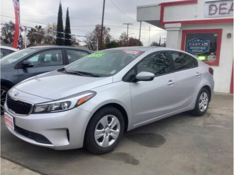 2017 Kia Forte for sale at Dealers Choice Inc in Farmersville CA