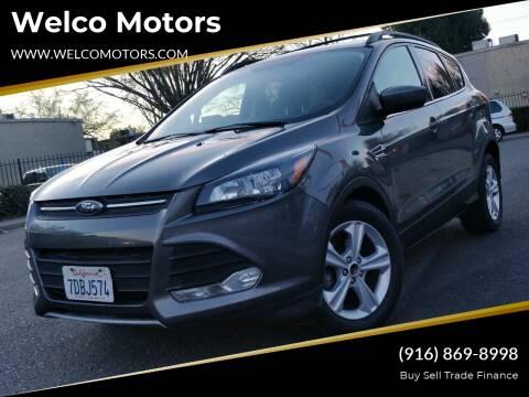 2014 Ford Escape for sale at Welco Motors in Rancho Cordova CA