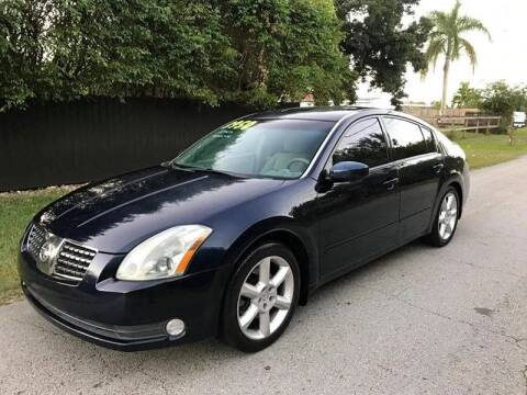 2004 Nissan Maxima for sale at LA Motors Miami in Miami FL