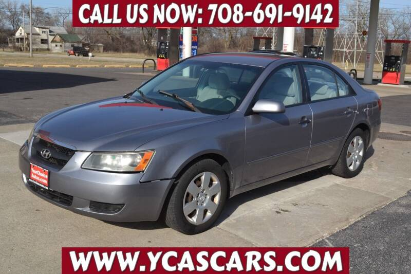 2006 Hyundai Sonata for sale at Your Choice Autos - Crestwood in Crestwood IL